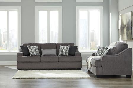 Milo Italia MI7174SLGUNM Briana Living Room Sets