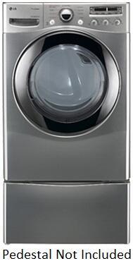 LG DLGX2656V Gas SteamDryer Series Gas Dryer