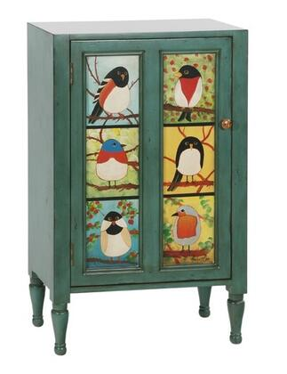 Gail's Accents 48006CB Pati B Series Freestanding Wood Cabinet