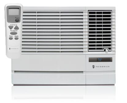 Friedrich CP12G10 Window or Wall Air Conditioner Cooling Area,