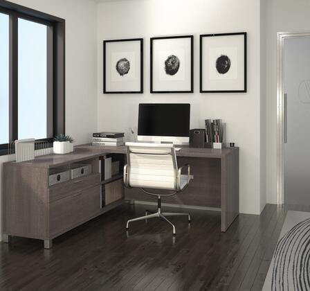 Bestar Furniture 120863 Pro-Linea L-Desk