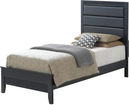 Glory Furniture G5350ATB Portland Series  Twin Size Panel Bed