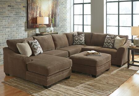 Milo Italia MI3939SECOTLTEAK Audrina Living Room Sets