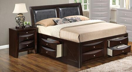 Glory Furniture G1525IKSB4N G1525 King Bedroom Sets