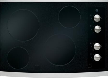 GE JP336SDSS CleanDesign Series Electric Cooktop