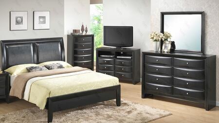Glory Furniture G1500AFBCHDMTV G1500 Full Bedroom Sets