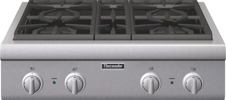 Thermador PCG304G Professional Series Gas Sealed Burner Style Cooktop, in Stainless Steel