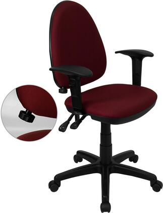 "Flash Furniture WLA654MGBYAGG 22"" Contemporary Office Chair"