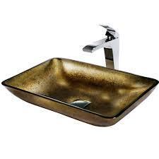 Vigo VGT156 Chrome Bath Sink