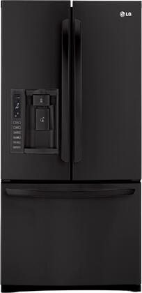 LG LFX25978SB  French Door Refrigerator with 24.9 cu. ft. Total Capacity 4 Glass Shelves