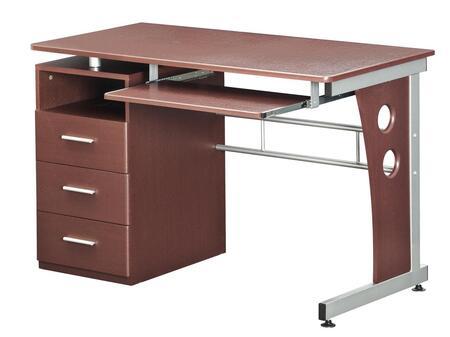 RTA Products RTA-3520- Techni Mobili Computer Desk w/ Storage in