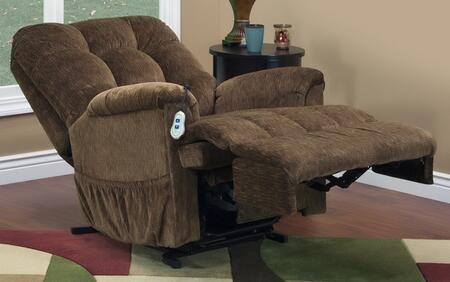 MedLift 5555VE Contemporary Fabric Wood Frame  Recliners |Appliances Connection