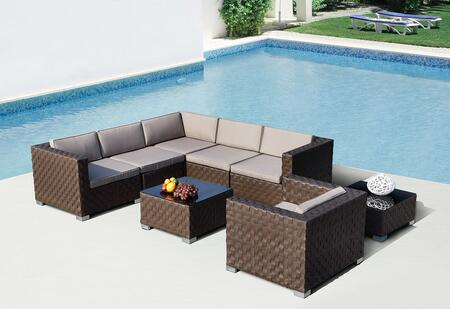 VIG Furniture VGSN760390 Modern Patio Sets