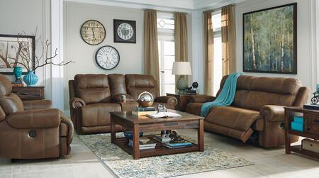 Milo Italia MI8244NSLRBRN Zachery Living Room Sets