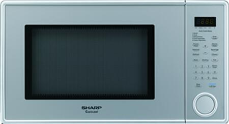 Sharp R409YV Countertop Microwave, in Silver
