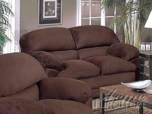 Acme Furniture 05586 Bella Series Microfiber Loveseat