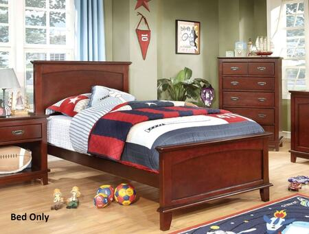 Furniture of America CM7909CHTBED Colin Series  Twin Size Bed
