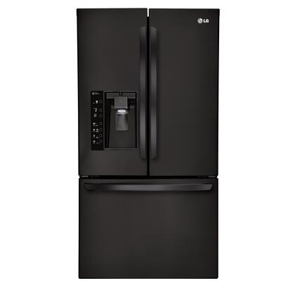 LG LFX31925SB  French Door Refrigerator with 30.7 cu. ft. Total Capacity 4 Glass Shelves