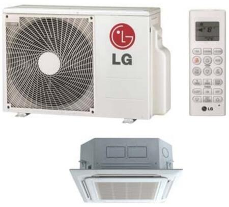 LG LC180HV Air Conditioner Cooling Area,