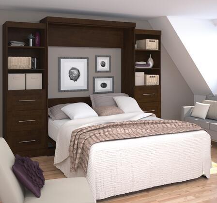 "Bestar Furniture 26884 Pur by Bestar 115"" Queen Wall bed kit"