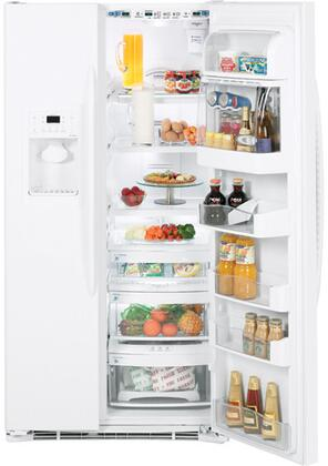 GE PCF25PGTWW  Side by Side Refrigerator