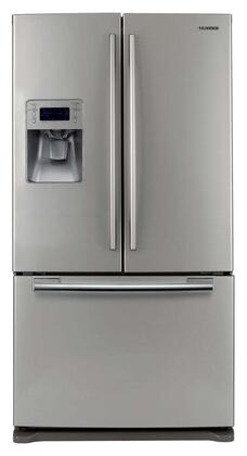 Samsung Appliance RF267AEPN  French Door Refrigerator with 25.5 cu. ft. Total Capacity 5 Glass Shelves