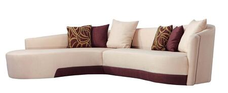 Beige Sectional Sofa View