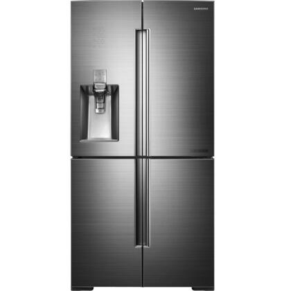 """Samsung RF34H9960S4 36"""" Chef Series French Door Refrigerator with 34.3 cu. ft. Capacity in Stainless Steel"""