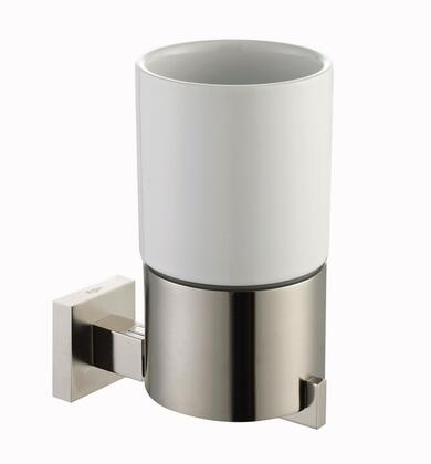 Kraus KEA14404 Aura Series Wall Mounted Ceramic Tumbler Holder