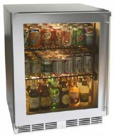 Perlick HC24RB4LDontUse Commercial Series Compact Refrigerator with 4.9 cu. ft. Capacity