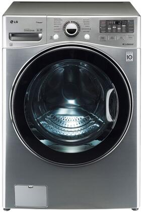 "LG WM3470H TurboWash Series 4.0 cu. ft. Ultra Large Capacity 27"" Front-Load Washer, TurboWash, Steam Option, 12 Washing Programs, 6Motion Technology, Energy Star Rated:"