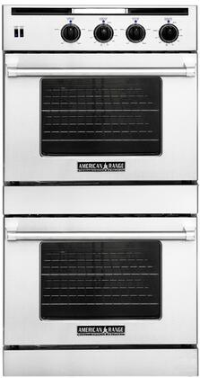 American Range AROSSG230W Double Wall Oven, in White