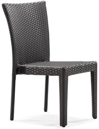 Zuo 701360 Arica Series Modern Metal Frame Dining Room Chair