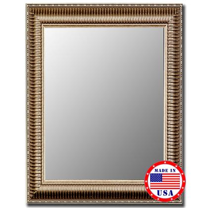 Hitchcock Butterfield 32070x Cameo XxX Mirror in Antique Silver