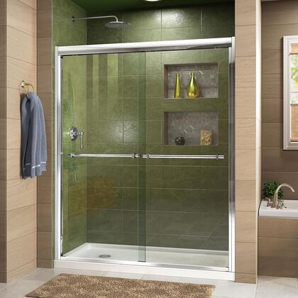 DreamLine Duet Shower Door RS43 C Base LeftDrain