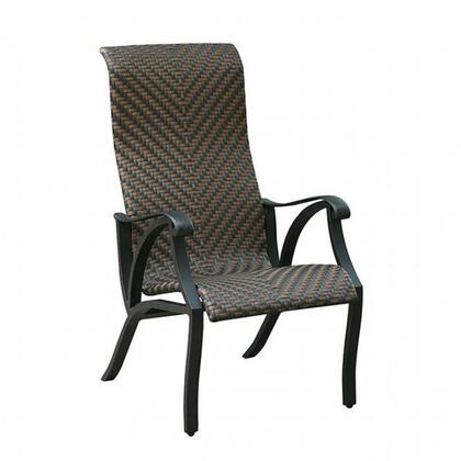 Furniture of America CMOT2305AC2PK Chiara I Series  Metal Frame  Patio Arm Chair
