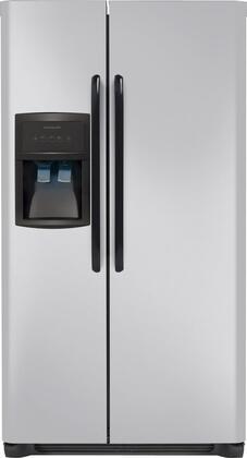 "Frigidaire FFHS2622MM 36"" Freestanding Side by Side Refrigerator"