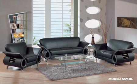 Global Furniture USA U559LVBLSLC Global Furniture USA Living