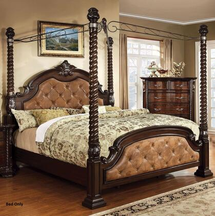 Furniture of America CM7296DACEKBED Monte Vista II Series  Eastern King Size Bed