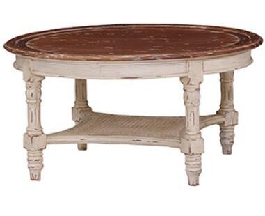 Bramble 24272 Antique Cream Transitional Table