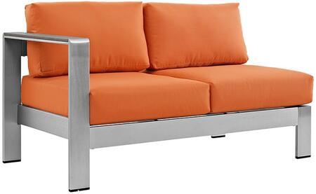 Modway EEI2265SLVORA  Patio Love Seat