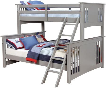 Furniture of America CMBK604GYBED Spring Creek Series  Bed