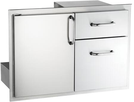 American Outdoor Grill 1830SSDD Door with Double Drawer