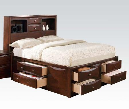 Acme Furniture 04085F Manhattan Series  Full Size Platform Bed