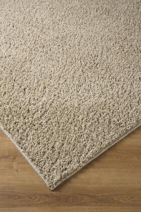 "Milo Italia Bronson RG357011TM 84"" x 60"" Medium Size Rug with Solid Shag Design, Machine Made Tufted, Polypropylene Material and Spot Clean in"