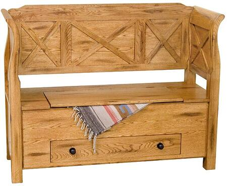 Sunny Designs 2153RO Sedona Series  Wood Bench