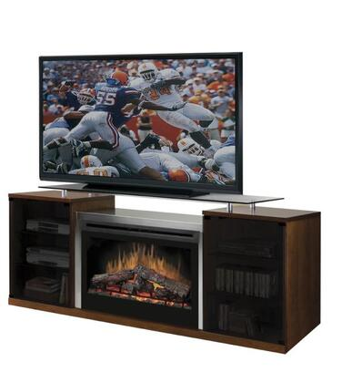 "Dimplex SAP-500- Marana Series Media Console with Floating Glass Top Which Supports up to a 60"" Flat Screen TV:"
