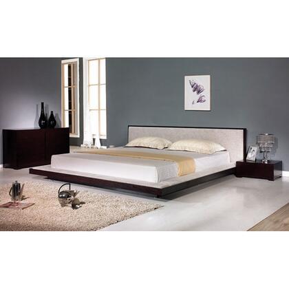 VIG Furniture COMFYBEDQ  Queen Size Platform Bed