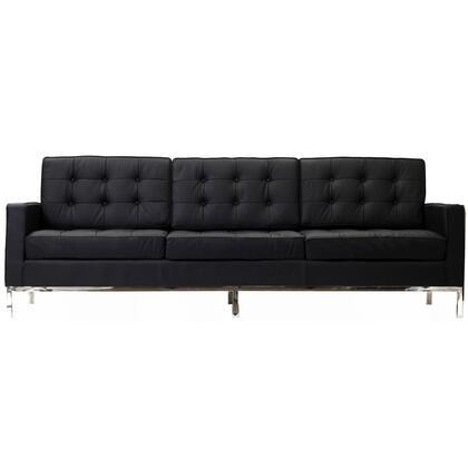 Modway EEI187BLK Loft Series Stationary Sofa