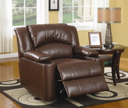 Coaster 600418 Transitional Wood Frame  Recliners